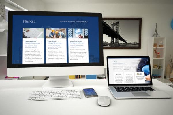 BLUESCAPE - web design