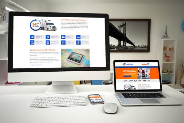 ET Transport - Website Design