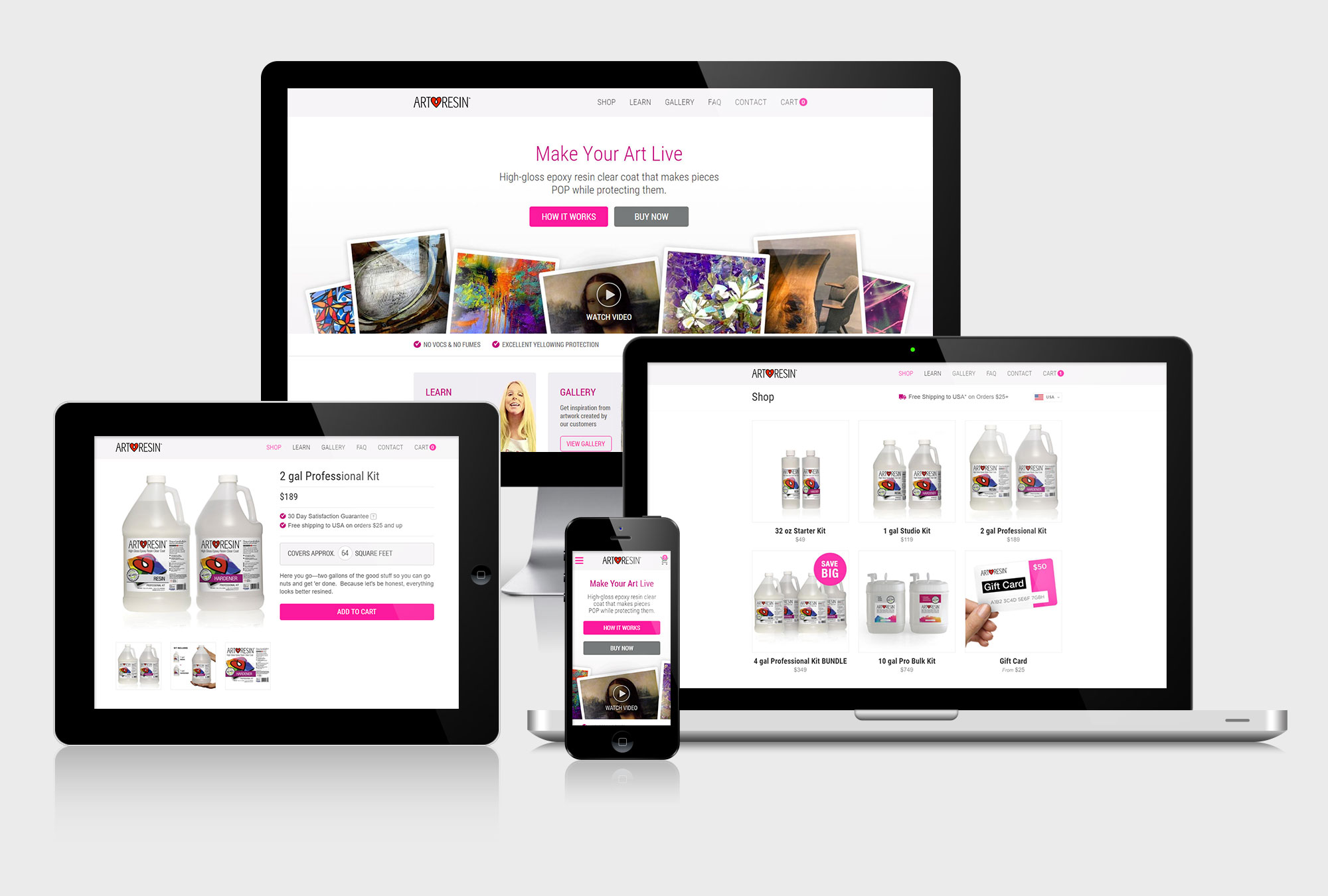 artresin-website-design-2 - Click Tie