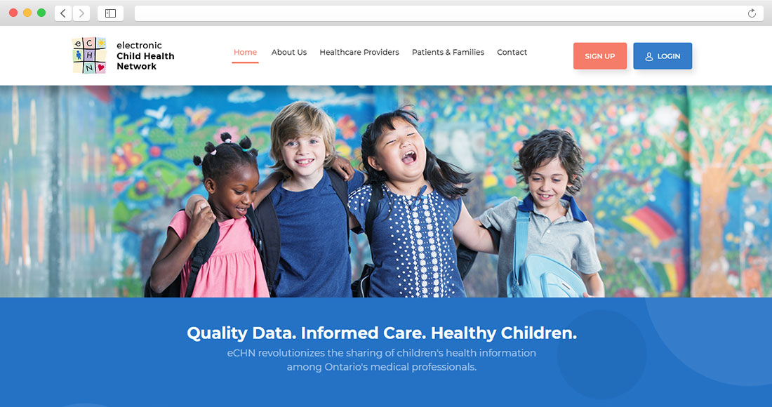 Electronic Child Health Network